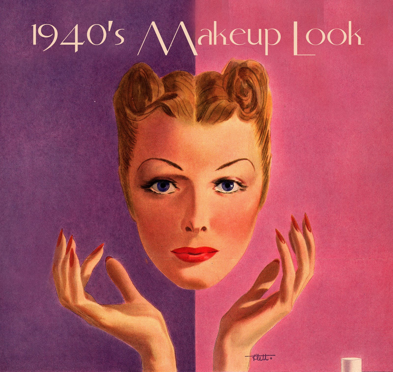 1940's Make Up-the preview | I Want to be a Pin Up
