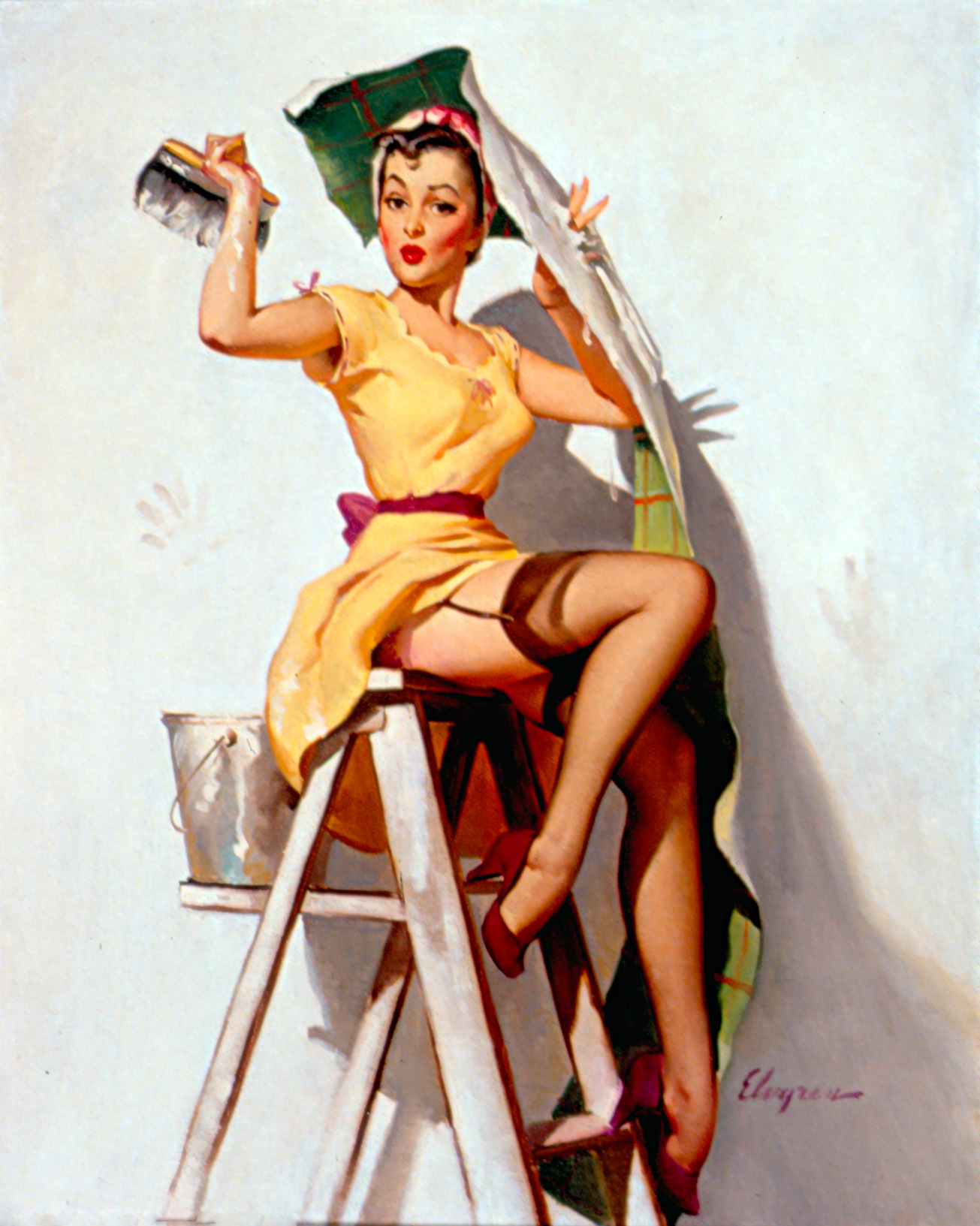 brunette pin up | i want to be a pin up