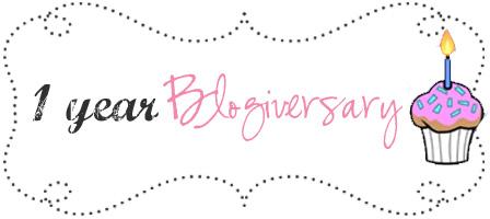 1st blogiversary