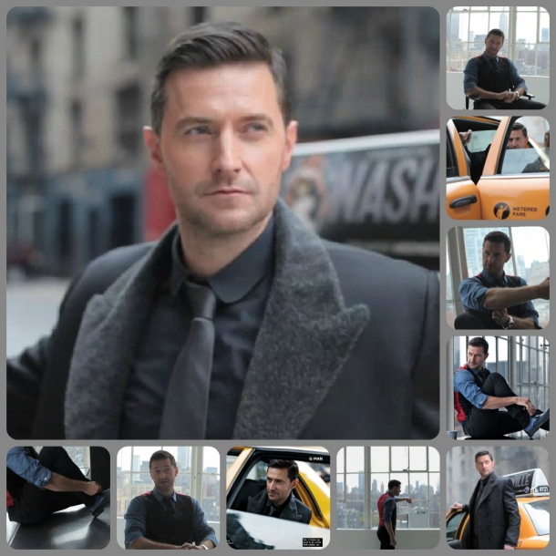 Richard Armitage Glamour UK December 2012 collage