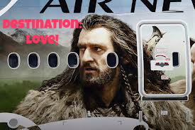 Thorin Air New Zealand The hobbit aeroplane