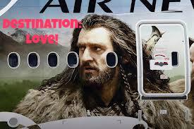 Thorin Air New Zealand The hobbit aeroplane