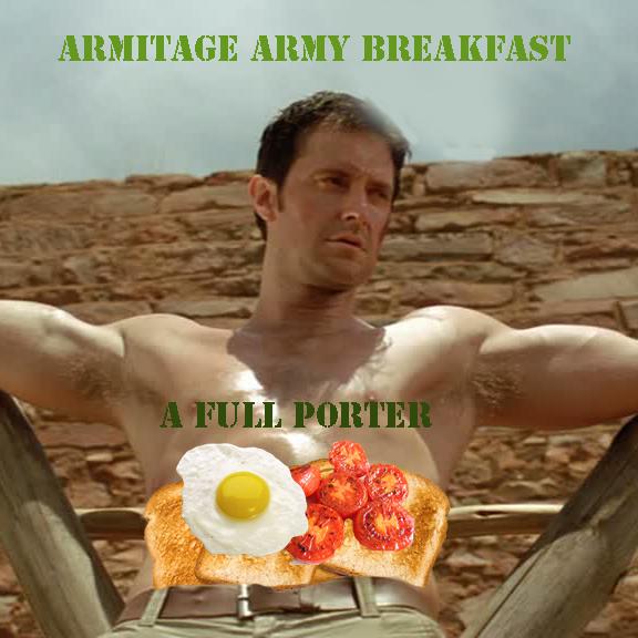 Armitage Army breakfast
