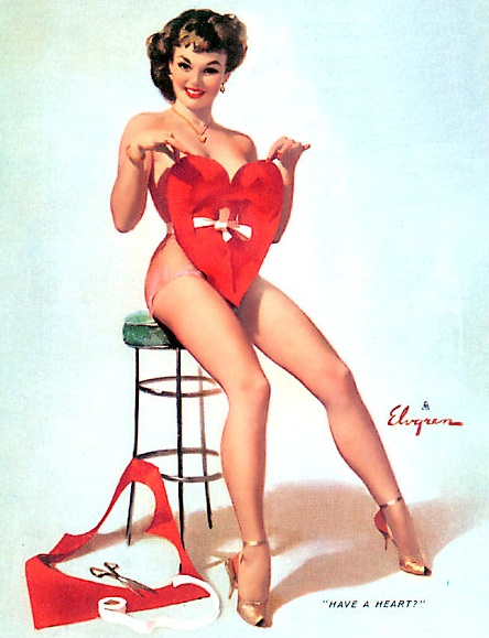 HaveAHeart_GilElvgren Pin Up Valentine's Day