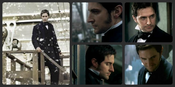 John Thornton collage North and South Richard Armitage