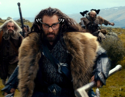 Thorin Richard Armitage glasses