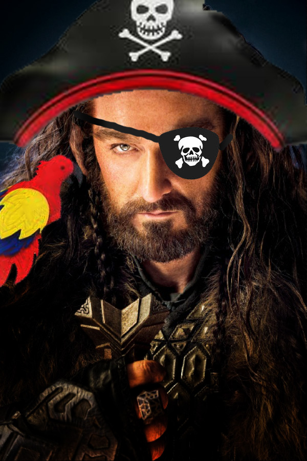 Thorin Richard Armitage Pirate