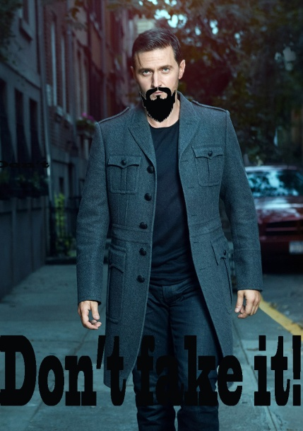 Don't fake it! Armitage beard