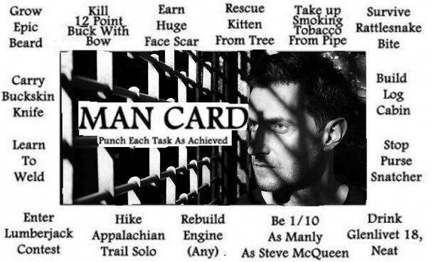 Richard Armitage Man card