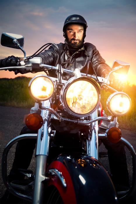 Thorin Richard Armitage motorbike