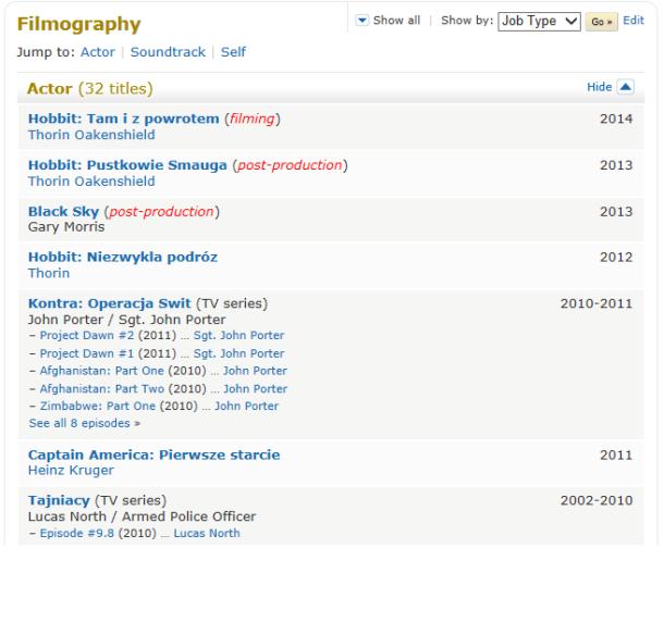 Richard Armitage IMDB