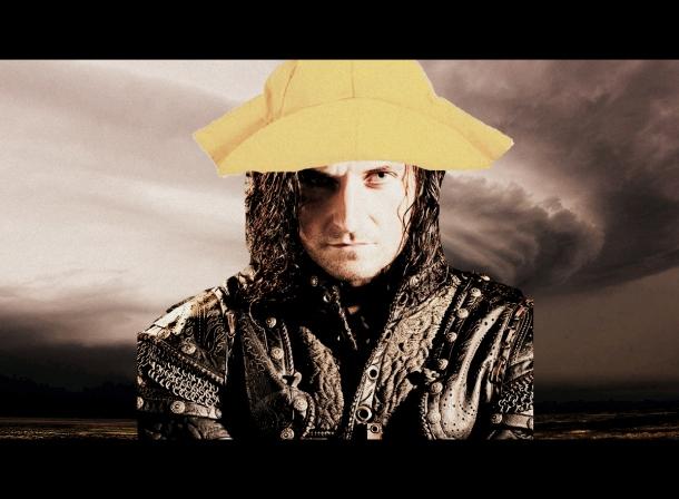 Guy rain 1