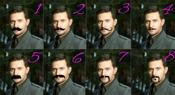 Armitage Moustache poll