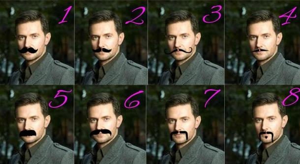 Armitage Moustache poll