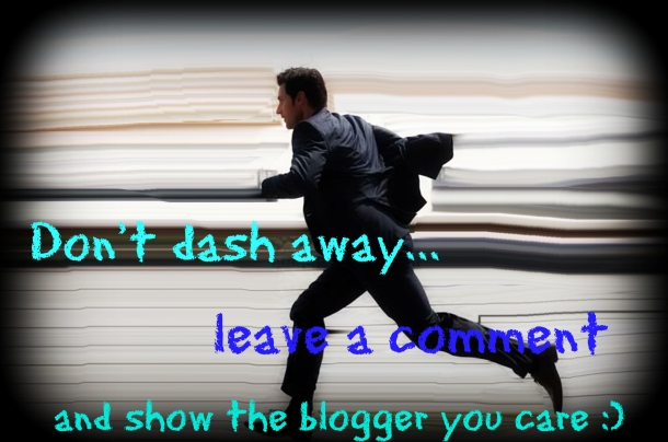 don't dash away