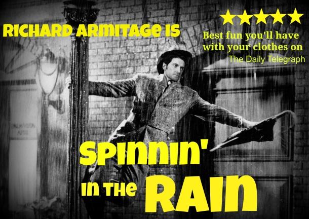 RA spinnin' in the rain