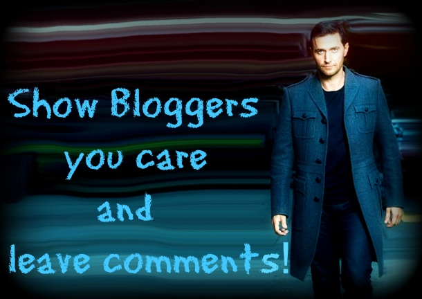 Show bloggers you care and leave comments