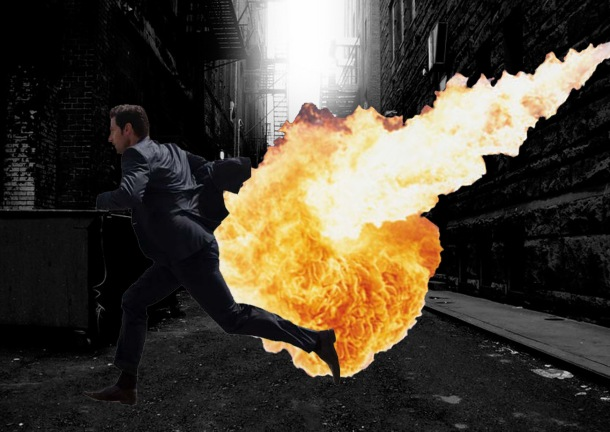 Armitage Dragon fire