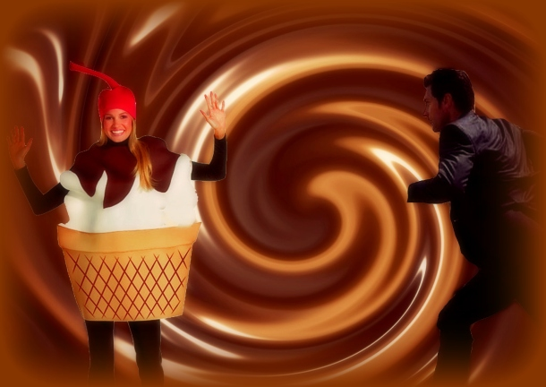 Richard Armitage chocolate ice cream