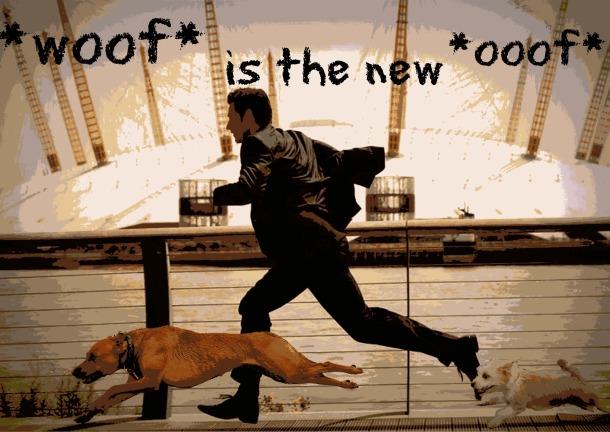 Richard Armitage Lucas running dogs