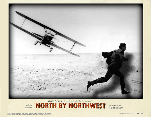 Richard Armitage North by Northwes poster