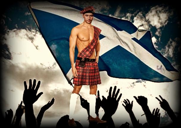 Scottish flag Armitage