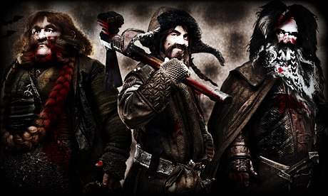 Zombie dwarves hobbit