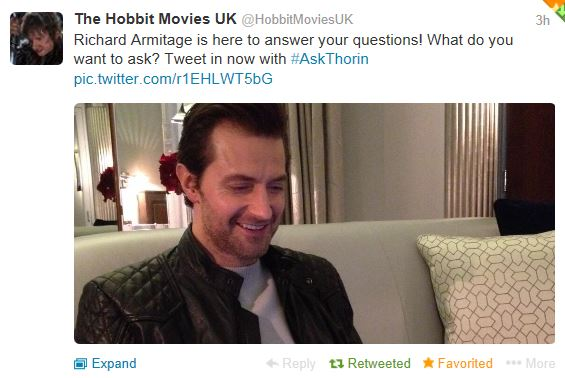The Hobbit Movies Live Tweet